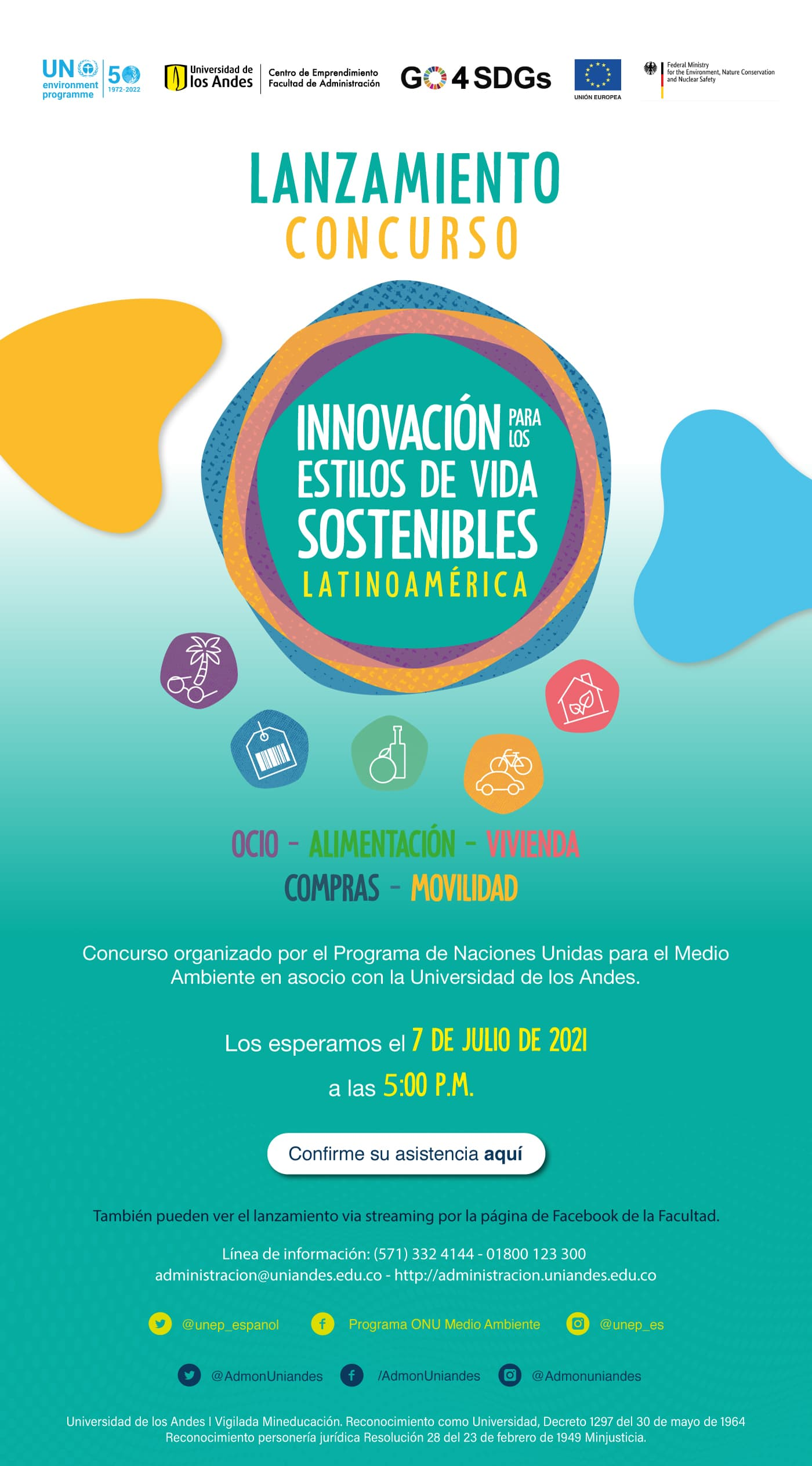 UNEP and Universidad de los Andes to support university students with sustainable business ideas in Latin America