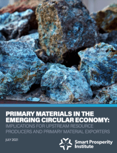 Primary Materials in the Emerging Circular Economy: Implications for upstream resource producers and primary material exporters